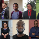 Collage of 10 headshots of the latest cohort of McNair Scholars